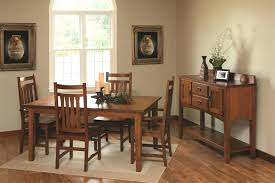 shaker style cherry dining table round room plans chairs furniture