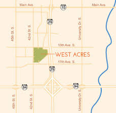 driving directions to fargo nd shopping mall west acres mall