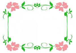pictures of borders with flowers clipground