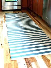 Black And White Striped Runner Rug Teal Runner Rug Tapinfluence Co