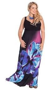 foliage print plus size maxi dress plus size fashion bug