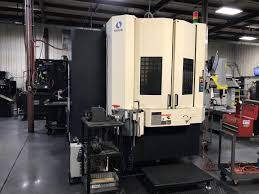makino a 61 5 axis cnc horizontal machining center fanuc pro 3