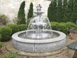 water fountain design indoor wall outdoor fountains garden