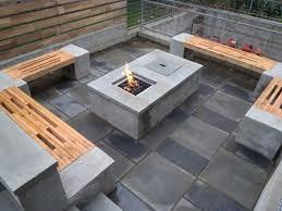 Concrete Patio Table Set Ideas Concrete Patio Set And 99 Concrete Outdoor Dining Table
