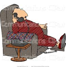 Couch Potato Clipart Royalty Free Talk Stock Communication Designs