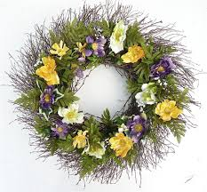 Wreaths For Spring The Neighborhood Moms