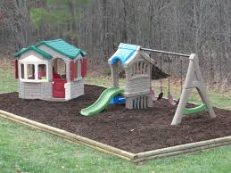 Step Naturally Playful Welcome Home Playhouse Reviews - Backyard playground designs
