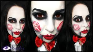 jigsaw from saw makeup tutorial by eyedolizemakeup youtube