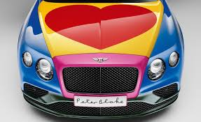 bentley wraith convertible sir peter blake designs a bentley for charity u2013 news u2013 car and