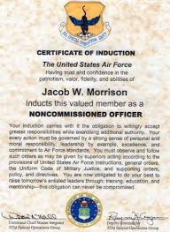 Air Force Resume Examples by Af First Sergeant Resume Virtren Com