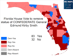Florida On The Map by A Trip Through History On The Florida Republicans Who Voted To