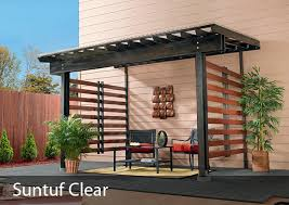 Roofing For Pergola by Suntuf Corrugated Polycarbonate Palram Americas
