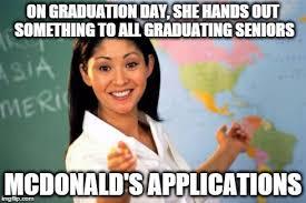 High School Senior Meme - unhelpful high school teacher meme imgflip