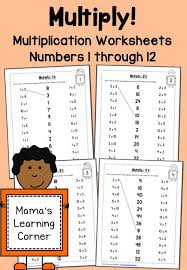 best 25 free multiplication worksheets ideas on pinterest