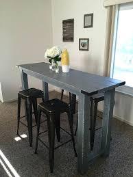 pottery barn bar table table bar design high table bar table rustic reclaimed wood table