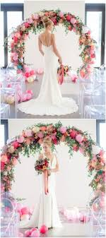 wedding arch balloons balloon and floral wedding arch what an interesting way to use