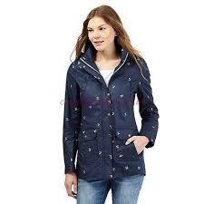 mantaray clothing mantaray navy navy coats jackets leaf embroidered shower proof