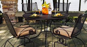 Wrought Iron Patio Tables Furniture Antique Wrought Iron Patio Furniture Wonderful