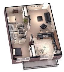 3d floor plans architecture3d for duplex houses 2 bedroom