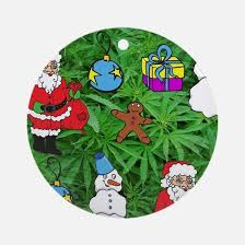 marijuana ornament cafepress