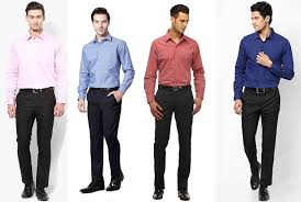 color combination with black men s guide to perfect pant shirt combination looksgud in