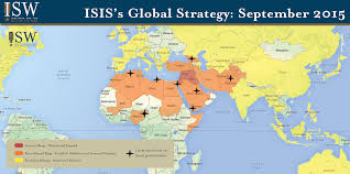 Map Of North Africa And The Middle East by Isw Blog Isis U0027s Global Strategy September 2015
