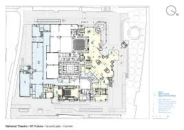 Set Design Floor Plan National Theatre Haworth Tompkins Archdaily