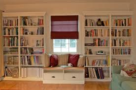 Diy Wall Bookshelves House Winsome Wall Of Bookshelves With Ladder Bookshelves Wall