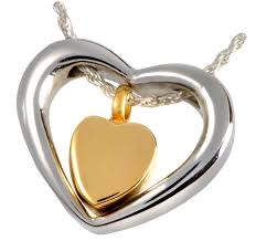 cheap cremation jewelry pet cremation jewelry heart of gold
