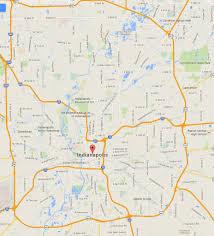 Maps Indianapolis Indianapolis Indiana Map