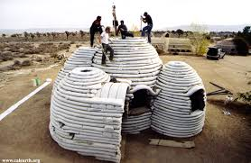cal earth teaches students to build disaster proof earth homes