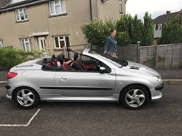 peugeot tepee interior peugeot 206 cc leather interior hard top in portishead bristol