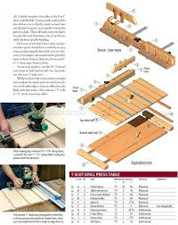 Drill Press Table Drill Press Table Plans U2022 Woodarchivist