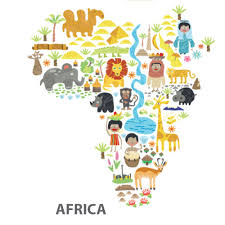 africa map fabric cultural world map fabric reusable wall decal