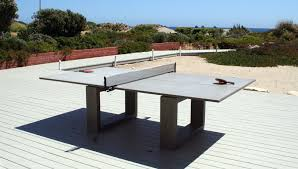 Innovative Floating Beer Pong Table In Patio Contemporary With - Designer ping pong table