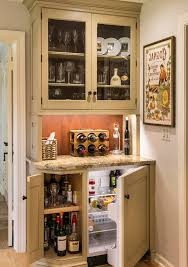 Cabinet For Mini Refrigerator Coffee Bar And Mini Fridge In Master Bat Home Bar Farmhouse With
