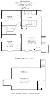 campus village apartments 3 br 1 ba apartments for rent in