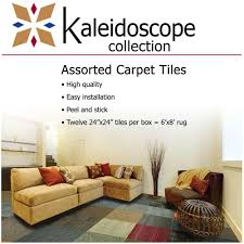kaleidoscope collection multicolor assorted commercial 24 in x 24