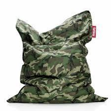 fatboy original lounge beanbag camouflage fb ori cam cozydays