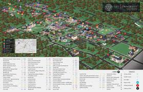 Indiana State University Campus Map by Summer Honors