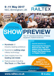 railtex preview 2017 by ukshows issuu