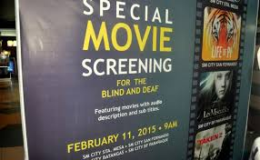 Deaf Blind Movie Movie Screening For The Deaf And Blind Welcome To Batangas City