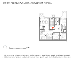 Plan De Loft Zaoblený Loft U2014 A1