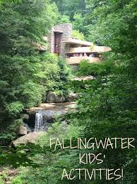 mini monets and mommies fallingwater kids u0027 frank lloyd wright