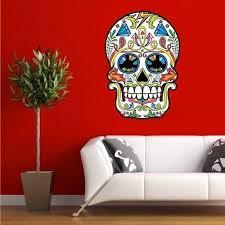 Skull Decor Stunning Sugar Skull Bedroom Decor Ideas Dallasgainfo Com