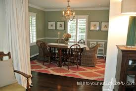 tell it to your neighbor dining room rug