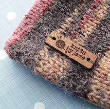 wooden clothing labels sew on garment labels personalized