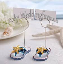 flip flop wedding favors exquisite flip flop place card holder favors wedding favors