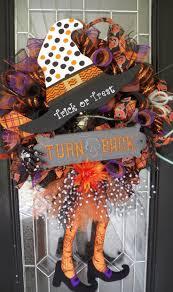 48 best halloween wreaths images on pinterest