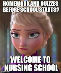 School Starts Tomorrow Meme - 163 best nursing school images on pinterest ha ha nursing schools